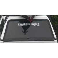 KayakFishingNZ.com Window Decal